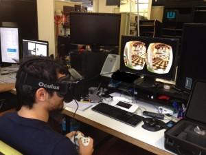 Provando gli Oculus Rift